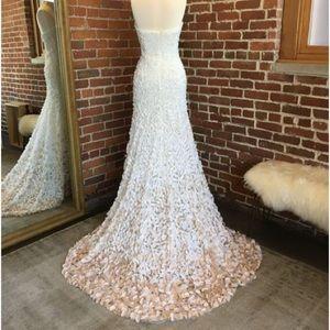f94276f52e0e Theia Dresses   Courtney 890235 Wedding Gown Strapless New   Poshmark
